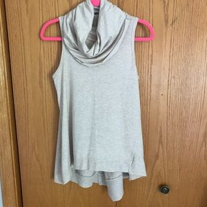 Tops - High-Low Cowl Neck Tank